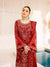 Red Color Georgette Unstitched Pakistani Salwar Kameez Suits