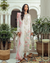 Off White Color Georgette Unstitched Pakistani Salwar Kameez Suits