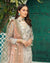 Stunning Off White Color Unstitched Stylish Pakistani Pant Suits