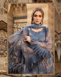 Grey Color Cotton Lawn Collection Suit