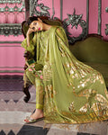 Classic Green Color Summer Wear Pant Lawn Printed Suit