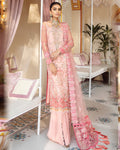 Baby Pink Color Butterfly Net Unstitched Pakistani Salwar Kameez Suits