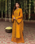 Mustard Yellow Color Jam Silk Cotton Unstitched Printed Pakistani Salwar Kameez Suits