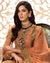 Orange Color Party Dress Material Sharara Style Pakistani Suit