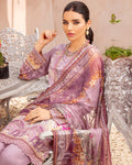 Purple Color Pure jam Cotton Printed Pakistani Palazzo Suit (Made in India)