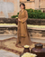 Brown Color Jam Silk Cotton Unstitched Printed Pakistani Salwar Kameez Suits