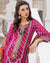 Magenta Pink Color Unstitched Pakistani Heavy Salwar Kameez Pant Suits