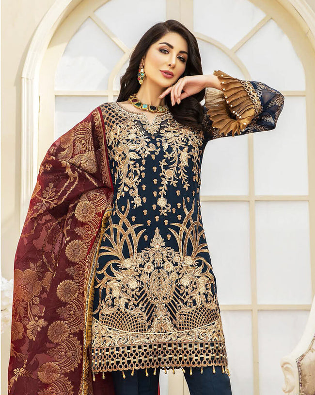 Maryams Summer Collection Vol-17 M 63 - 100% Original Pakistani Suit