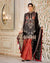 Black Color Party Dress Material Sharara Style Pakistani Suit