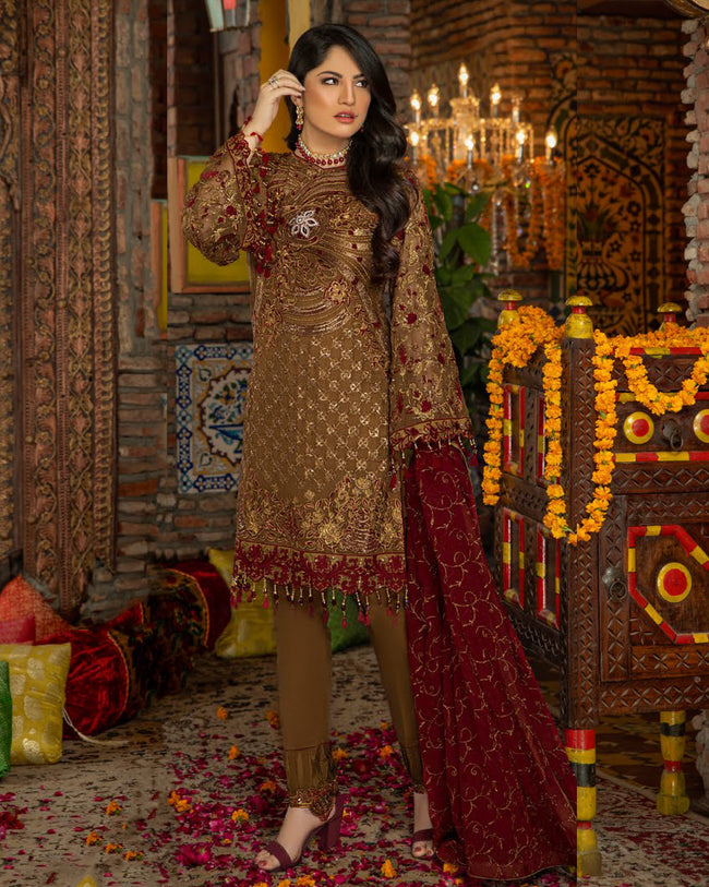 Maryam's  Premium Vol 5 MP-155 - 100% Original Pakistani Suit