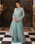 Light Sea Green Color Festive Wear Unstitched Pakistani Stylish Suits