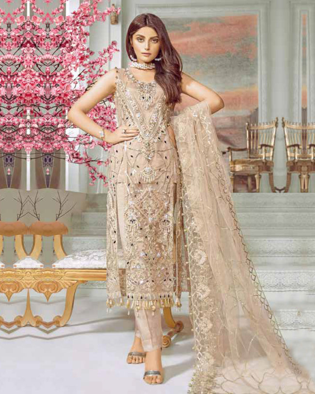 Maryum N Maria Luxury Chiffon Collection - MMC-08 - Pakistani Suit
