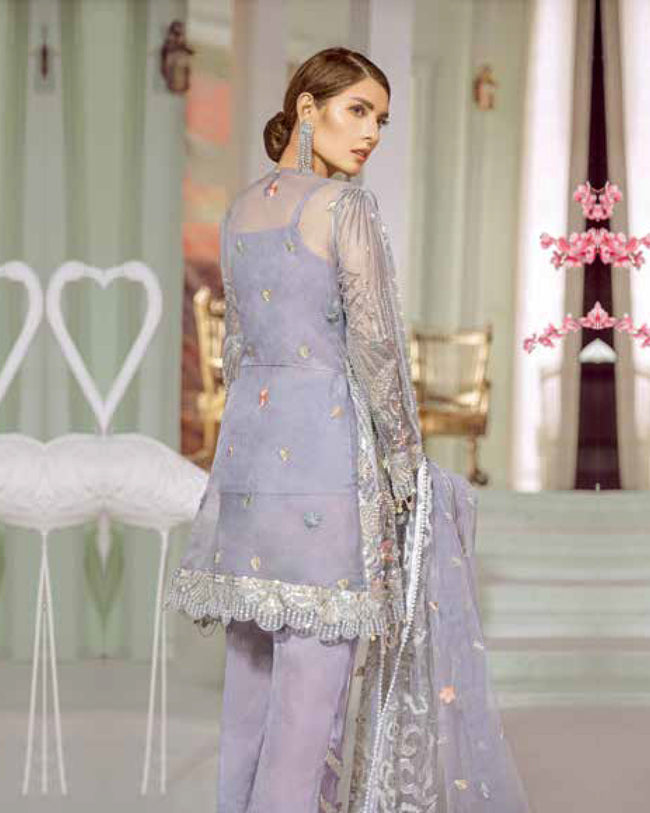 Maryum N Maria Luxury Chiffon Collection - MMC-09 - Pakistani Suit