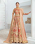 Red Colored Bridal Wear Unstitched Heavy Pakistani Salwar Kameez Suits