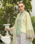Lemon Yellow Color Pure Cotton Lawn Salwar Suit