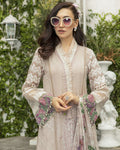 Excellent Beige Color Pure Cotton Lawn Salwar Suit