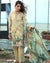 Pleasant Yellow Color Lawn Collection Dress Material Suit