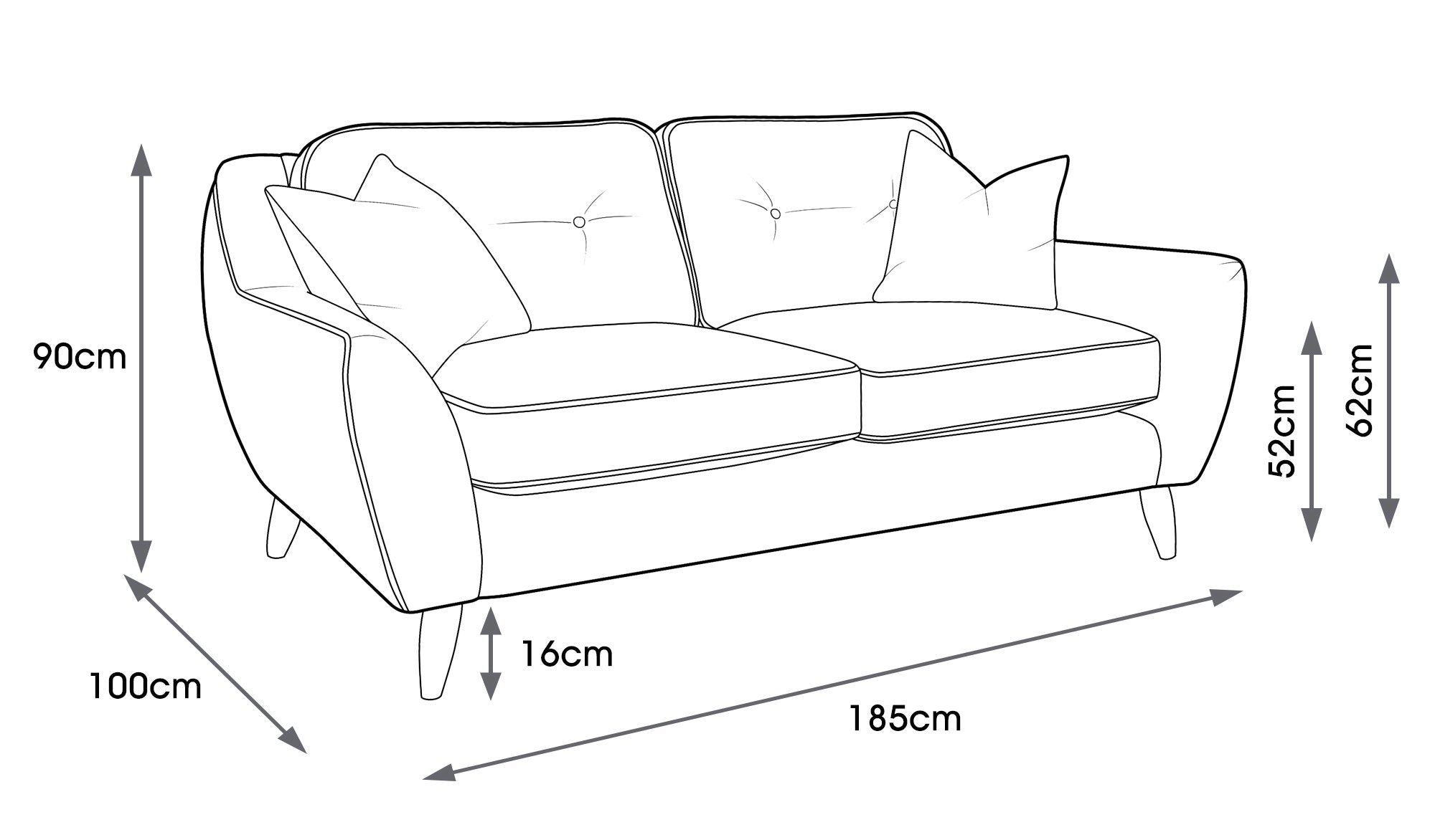 Laurel Medium Sofa