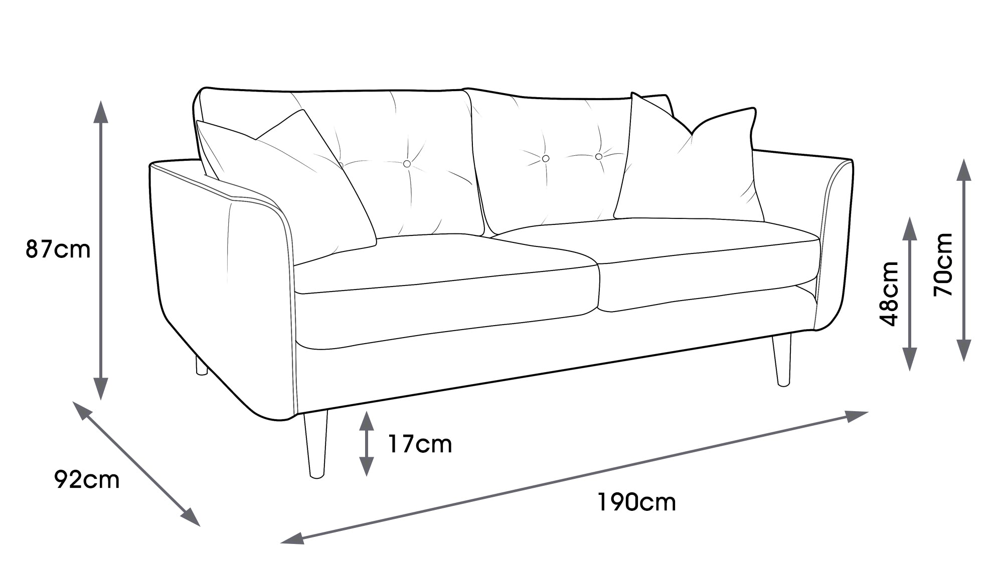 Linden Medium Sofa