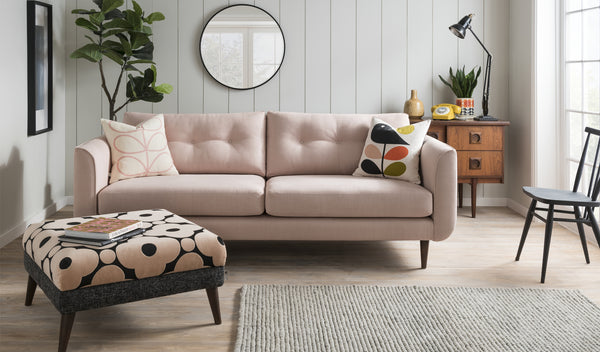 Linden Fabric Large Sofa