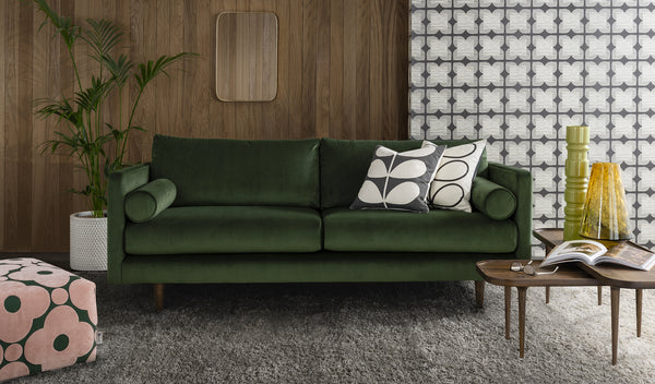 Mimosa Fabric Large Sofa