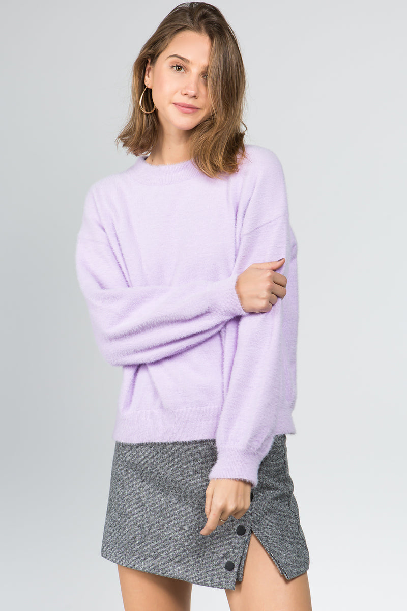Lilac Light Sweater