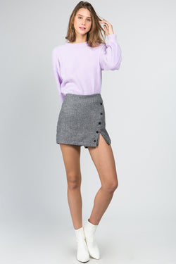 The Aisha Cigarette Skort
