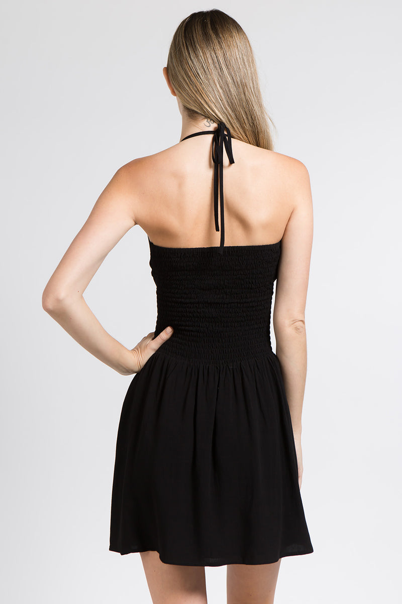 Nina Mini Halter Dress