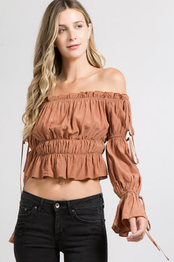 Top - Chloe Off-the-Shoulder Blouse
