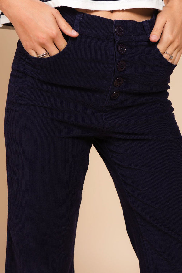 Bottoms - Corduroy Flair Pant