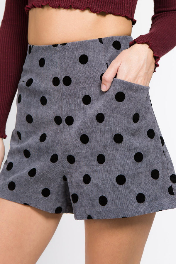 Bottoms - Fanny Polka Dot Short