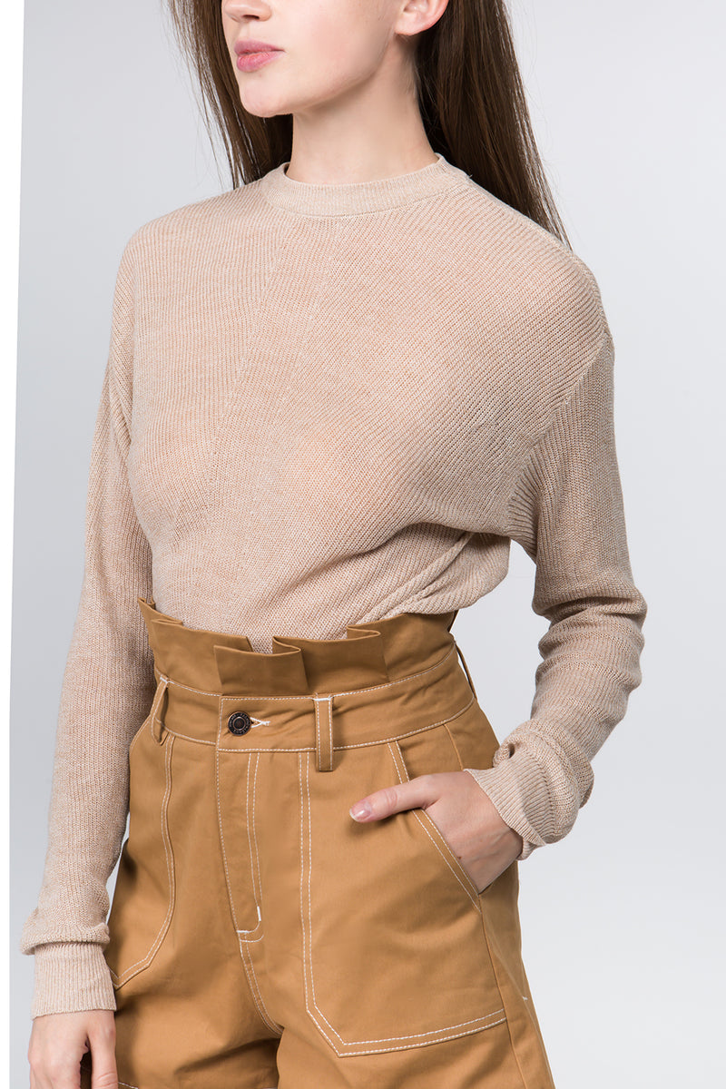 Mel Sweater in Mocha