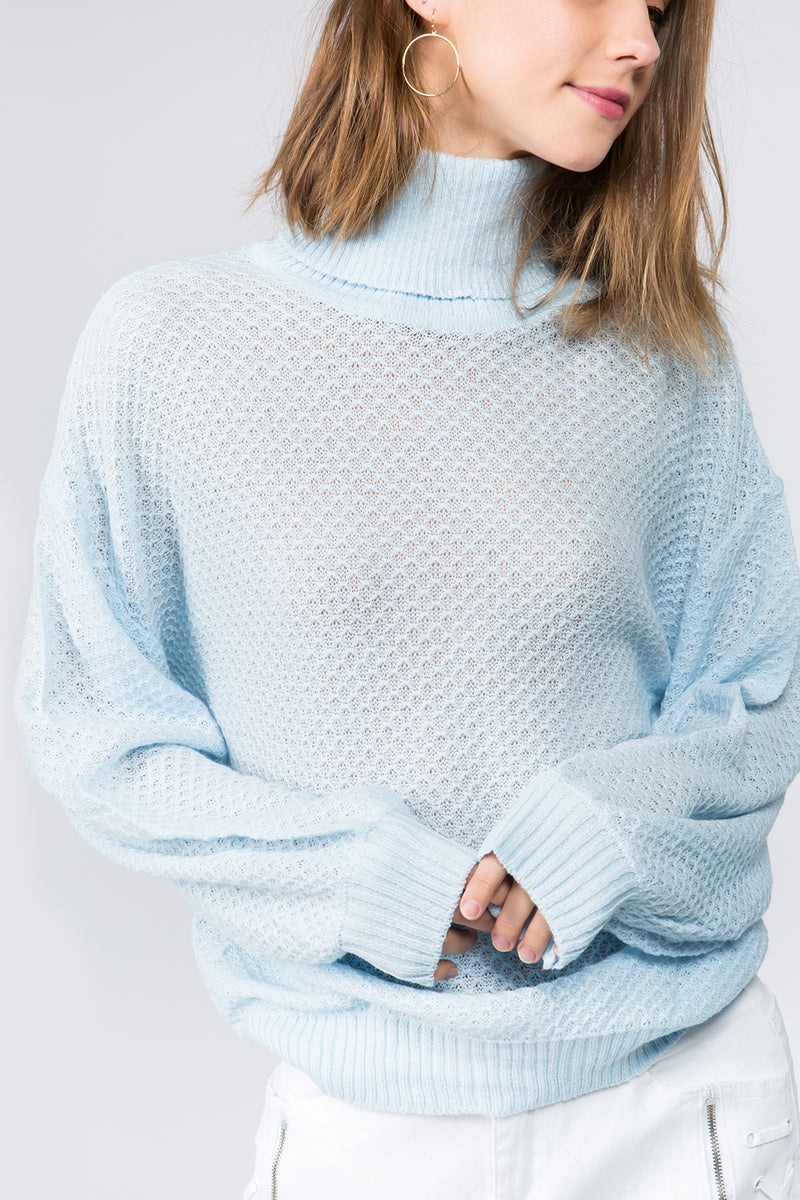 Cozy Pullover Turtleneck Sweater