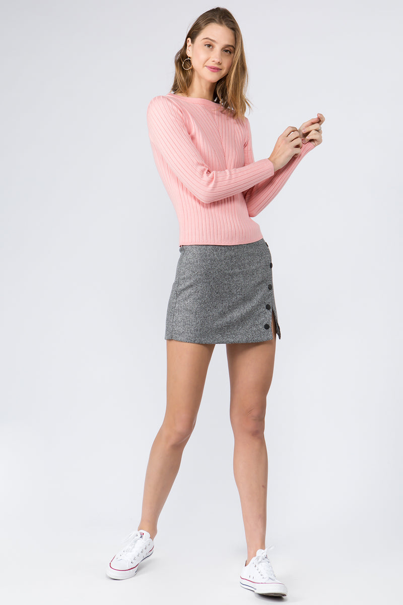 Girls Like You Rib Knit