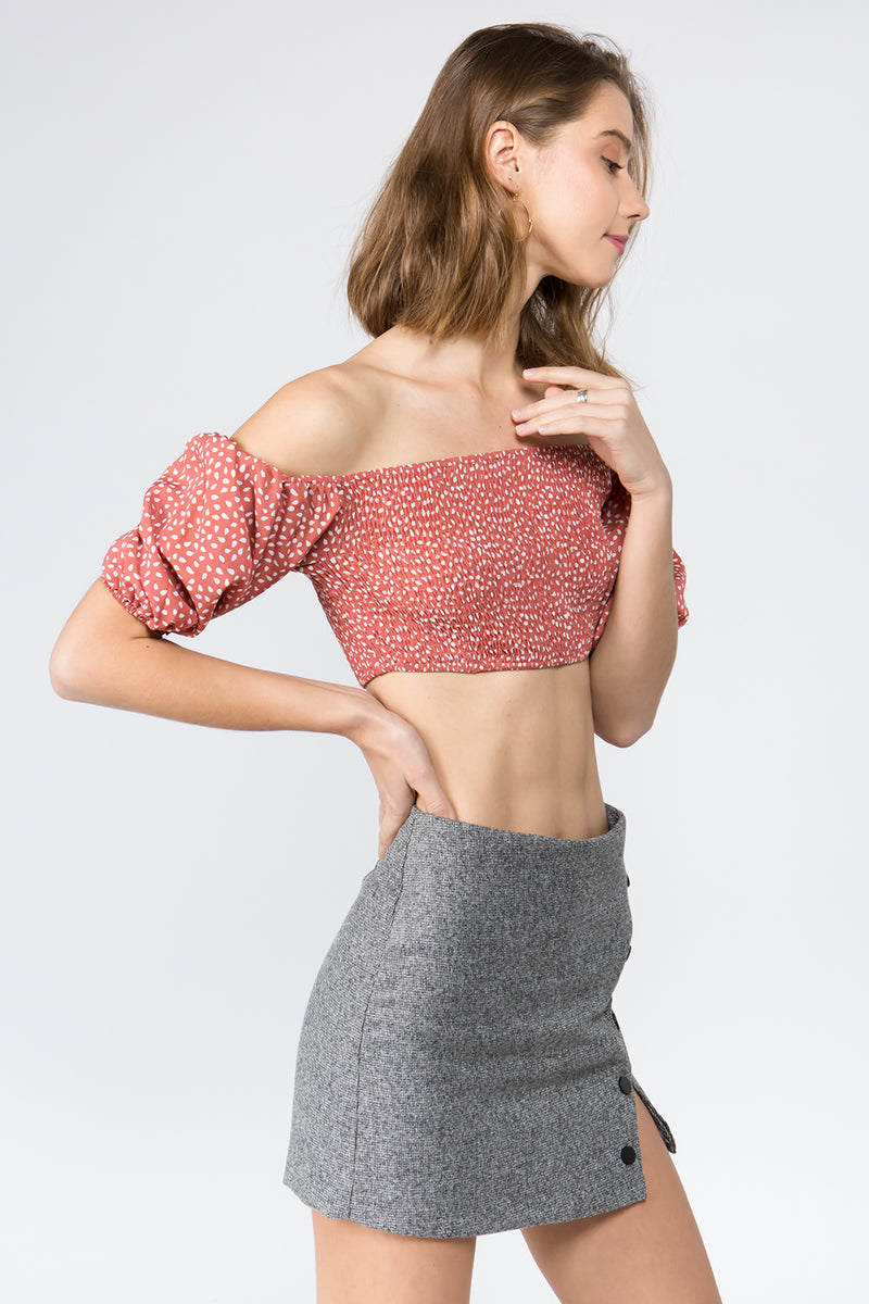 Daisy Daisy Crop Top