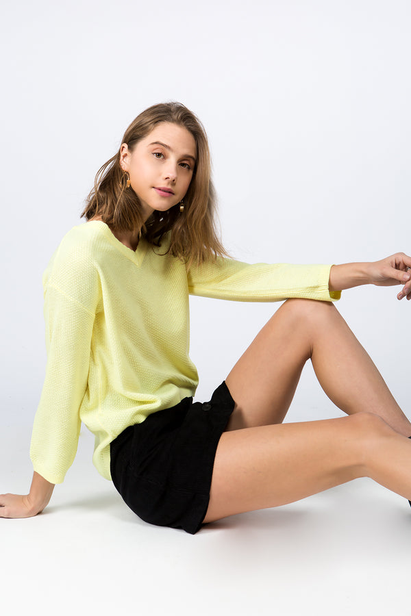 Neon My Way Pullover