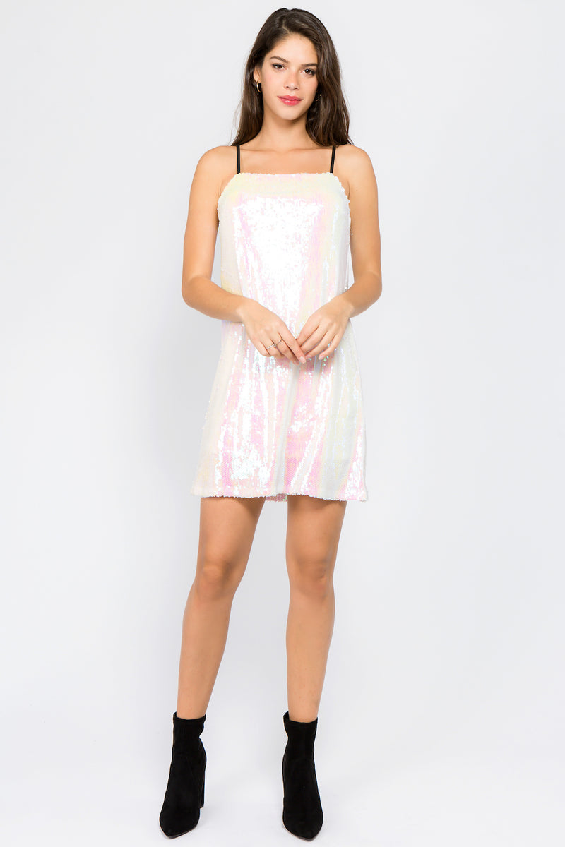 The Cecile Sequin Dress