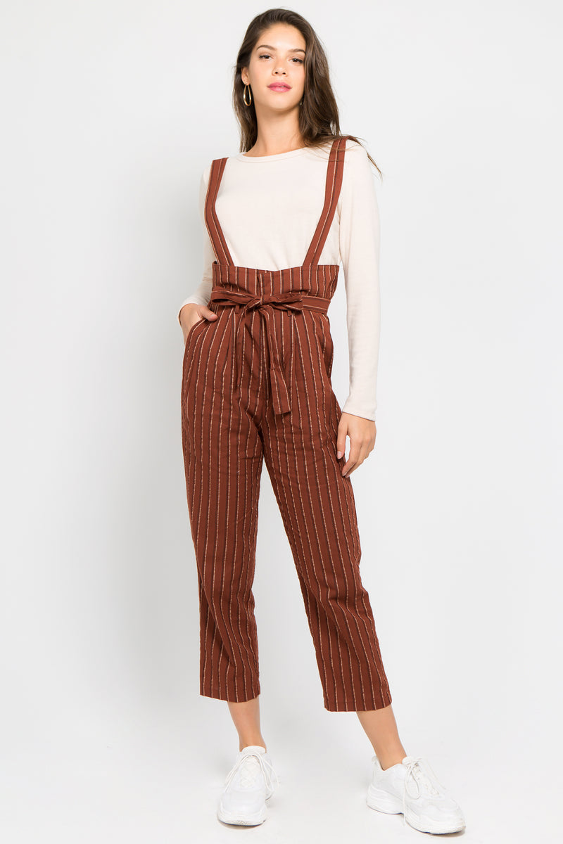 The Juju Jumpsuit in Rust