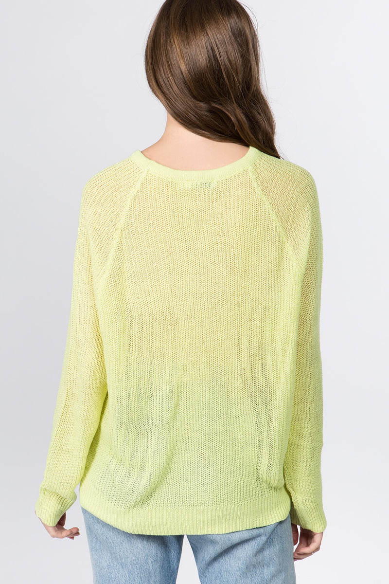 Libby Citrus Knit Sweater