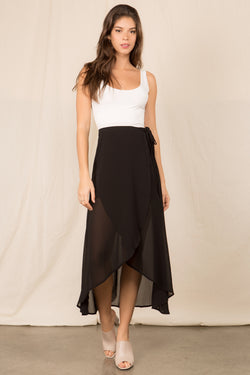 Flowy Wrap Skirt