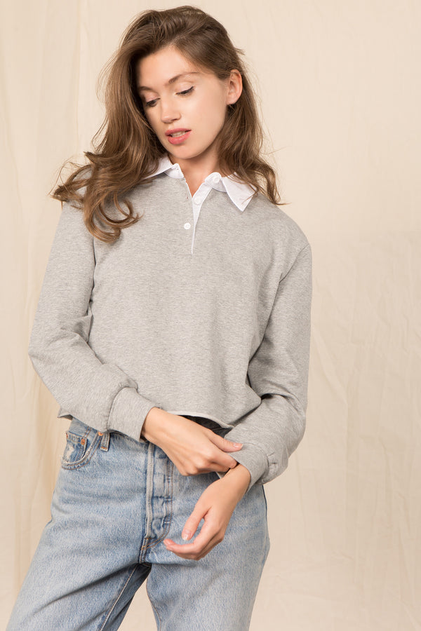 The 90's Sweatshirt in Grey