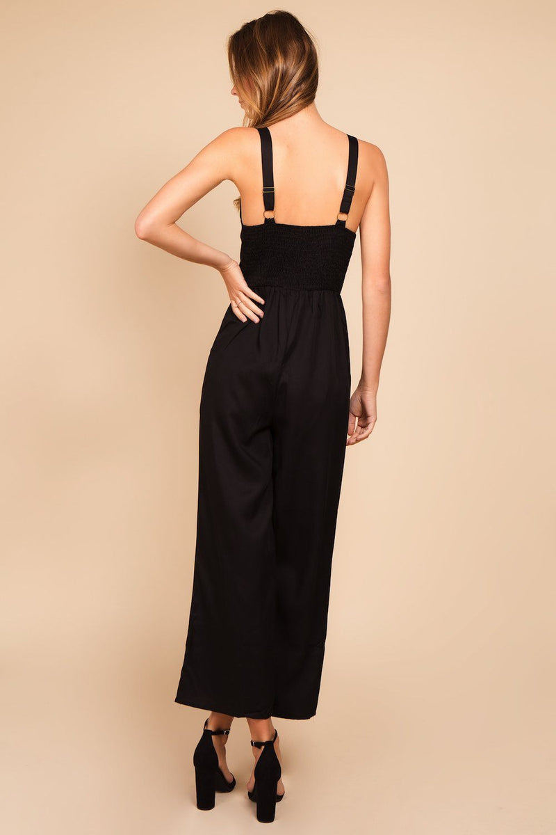 Rompers & Jumpsuits - Jelena Button Front Jumpsuit