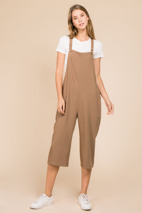Rompers & Jumpsuits - Jena Jumpsuit-ALMOND