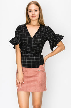 Tops - Elena Wrap Blouse