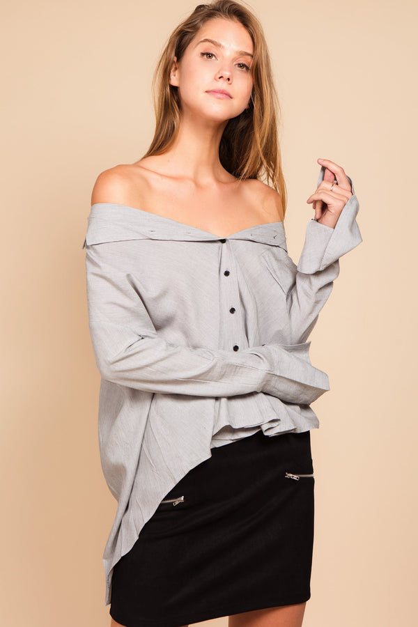 Tops - Mika Oversized Shirt