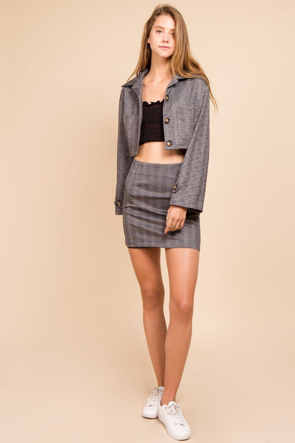 Two Pieces - Jamie Jacket Plus Skirt Sets