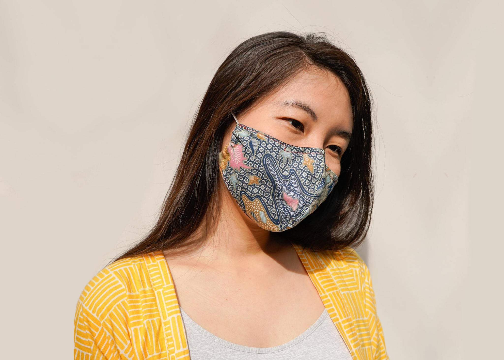 Short of masks? Make your own fabric mask (with nose wire and filter pocket!)