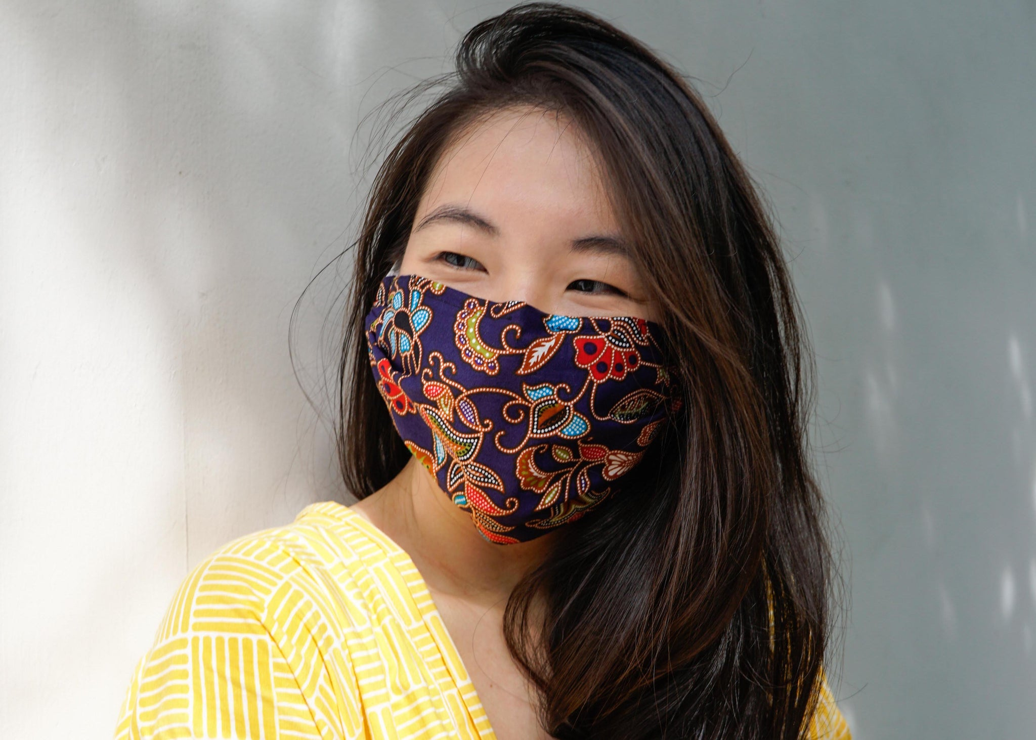 Easy DIY Fabric Mask (with nose wire and filter pocket!)
