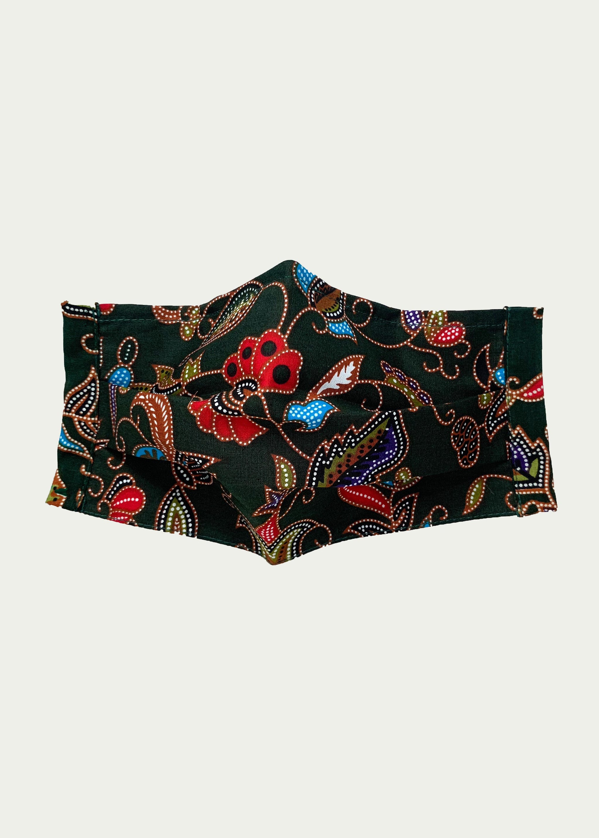 (PRE-ORDER) Bi-fold Reusable Batik Mask (filter pocket, nose wire)