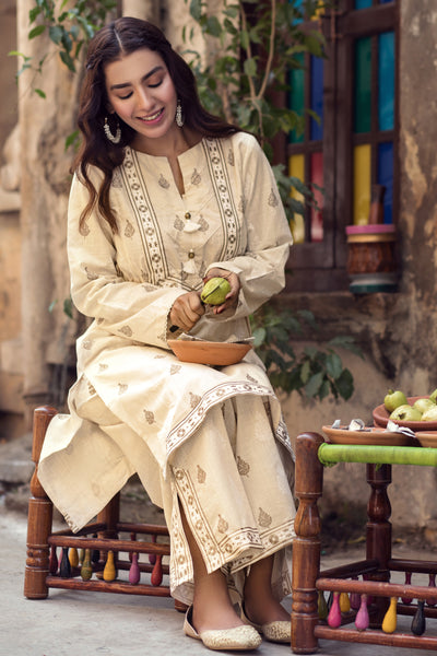 Gul Ahmed Winter Collection -Kurti Only